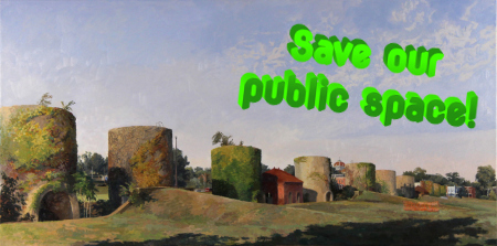 Save McMillan Park: A Painting